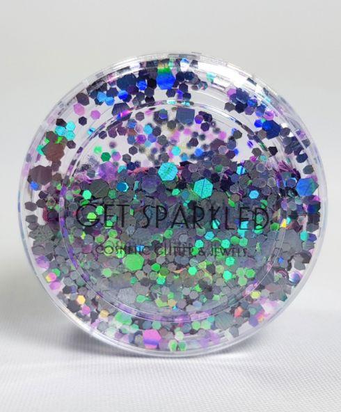 Cosmic Glow Chunky Glittermix, cadeau voor haar kopen festival glitter