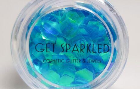 Mermaid Scales Glitter Discs