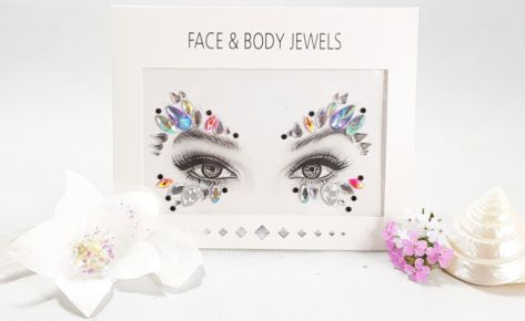 Candy Butterfly Face Jewels