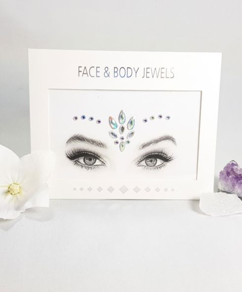 Ice Flower Face Jewels