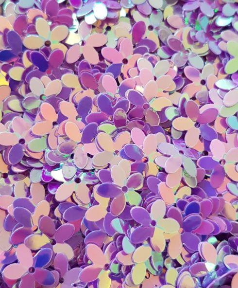 Golden Purple Flower Power Jewels, glitters kopen