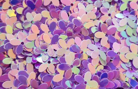 Golden Purple Flower Power Jewels