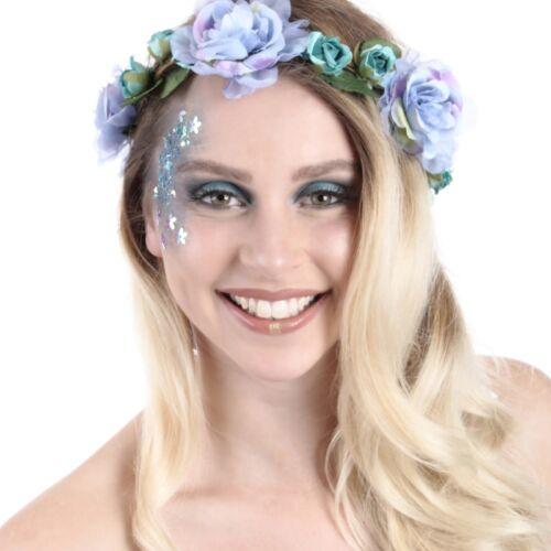 Flowerpower festival bohemian look met watervaste glitter make up kopen