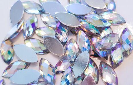 Cat-eye Jewels 15 mm Crystal