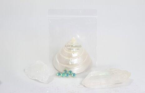 Diamond Jewels 6 mm in Rainbow Shine Colours (6 x jewels)