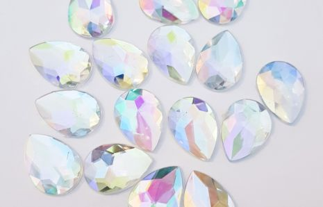Droplet Jewels 25 mm Crystal