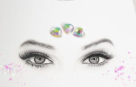 Heart Jewels 14 mm Crystal