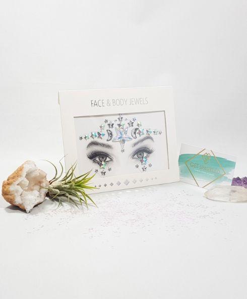 Moonlight Sparkle Face Jewels, Hoofd sticker sterren moonchild diamanten glittersteentjes kopen