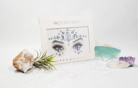 Moonlight Sparkle Face Jewels