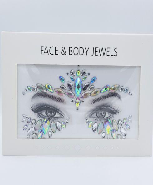 Festival Queen Face Jewels, Sticker Glitter Steentjes Kopen