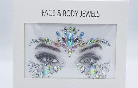 Festival Queen Face Jewels