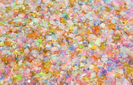 Dreamy Rainbow Sparkle Chunky Glittermix