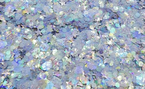 Aquamarine Biocompostable Glittermix