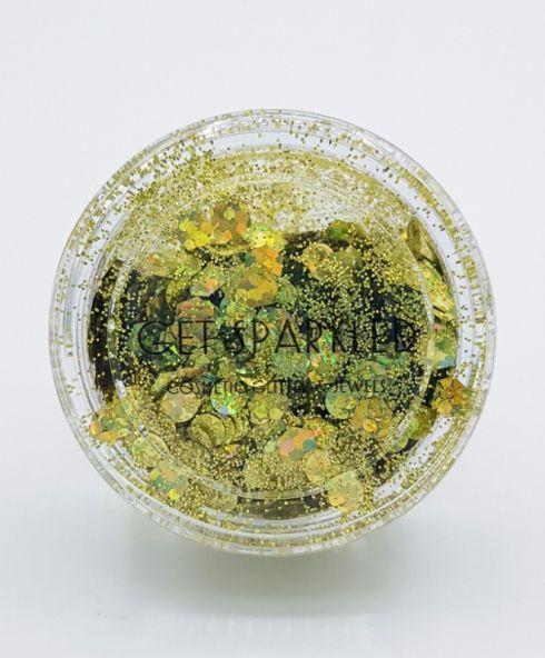 Gold Fever Biodegradable Glittermix, Biodegradable Glitter buy