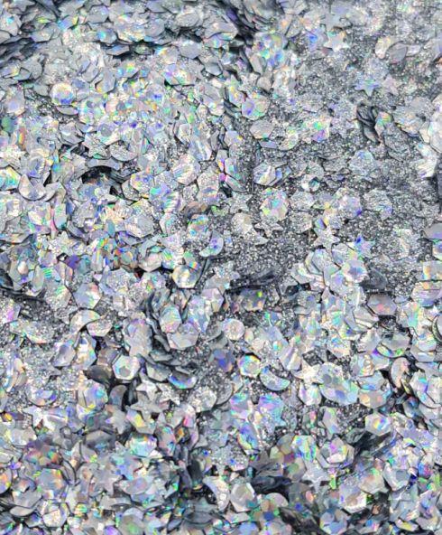 Moondust Biodegradable Glittermix, Bioglitter festival kopen