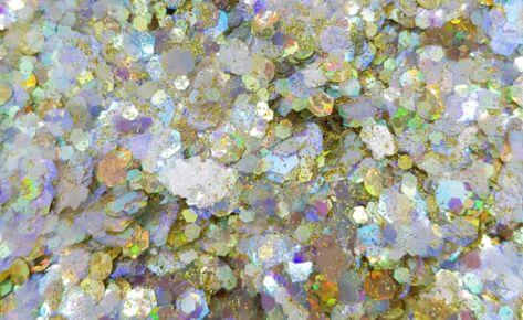 Paradise Pearl Biocompostable Glittermix