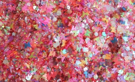 Butterfly Fiesta Chunky Glittermix