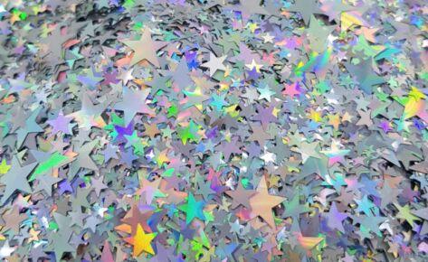 Cosmic Galaxy Star Glitters