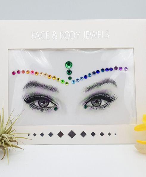 Pride Face Jewels, gaypride make up kopen