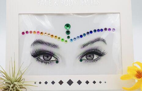 Pride Face Jewels