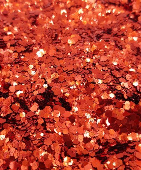 Red Velvet Chunky Glittermix, rode glitter kopen