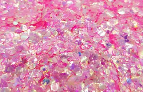 Moon Glow Pink Chunky Glittermix