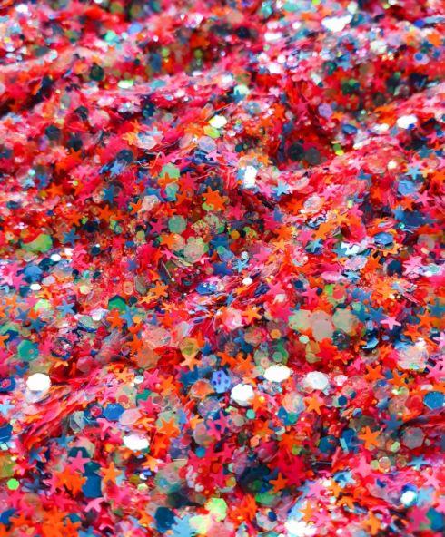 Neon Nights Chunky Glittermix, glitter kopen