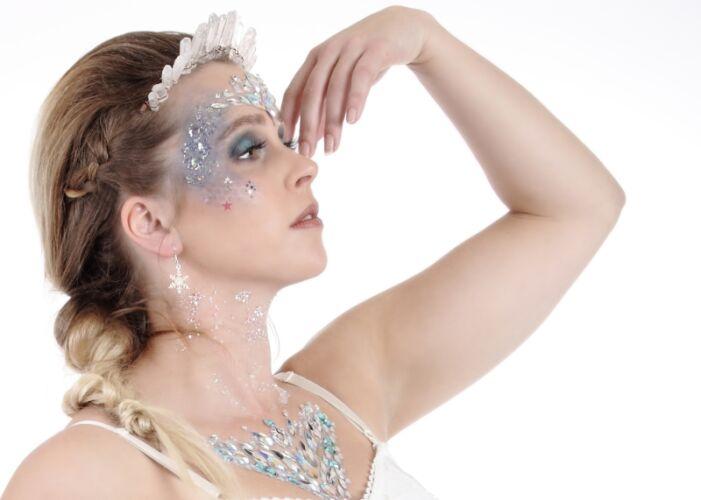 IceQueen glitterlook, festivallook, bestel hier jou glitters voor de kerst, het leukste cadeau voor dames