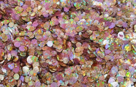 Carma Carnelian Biocompostable Glittermix