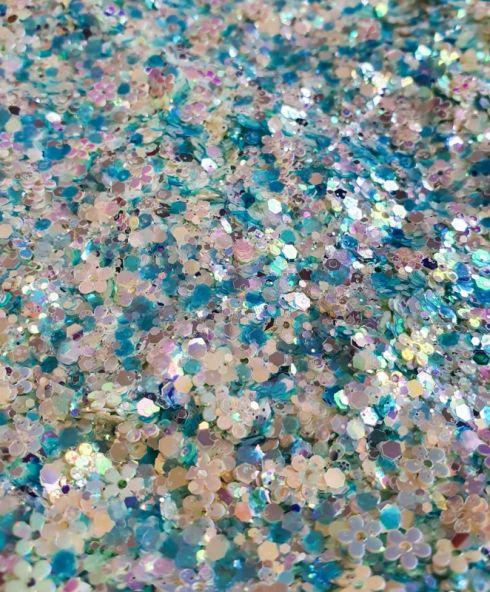 Dancing Daisies Chunky Glittermix, glitter kopen