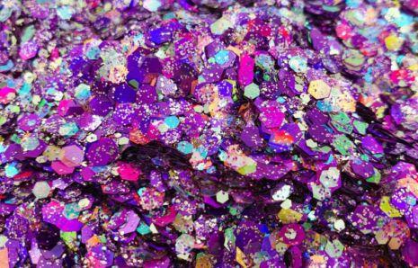 Purple Passion Chunky Glittermix
