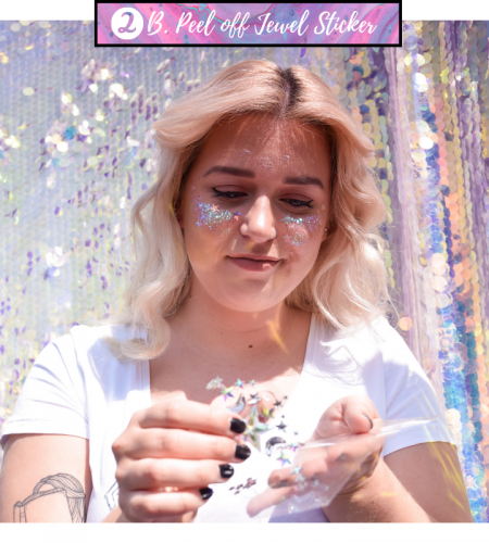 Tips en Tricks over het aanbrengen van glitter en gezichtsversiering voor een festival, feestje of carnaval