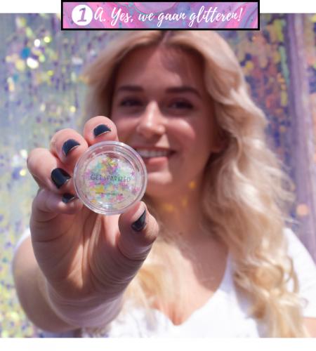 Tips en Tricks, Glitters die bij Get Sparkled te koop zijn opbrengen