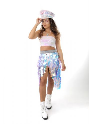 Festival Fashion in Unicorn Thema. Wil je ook Uitgaanskleding kopen, Festival kleding kopen? Kijk dan snel in de webshop!