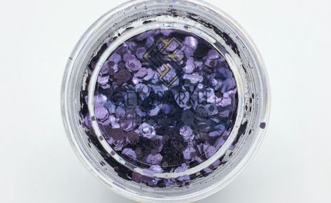 Atomic Amethist Biodegradable SPARKLE Glittermix