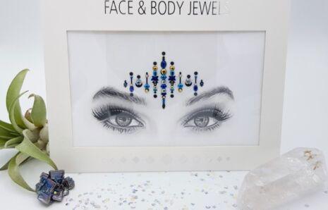 Dark Electra Face Jewels