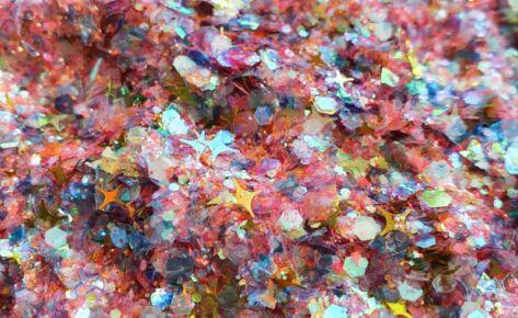 Dreamy Rainbow Sparkle Chunky Glittermix 2.0