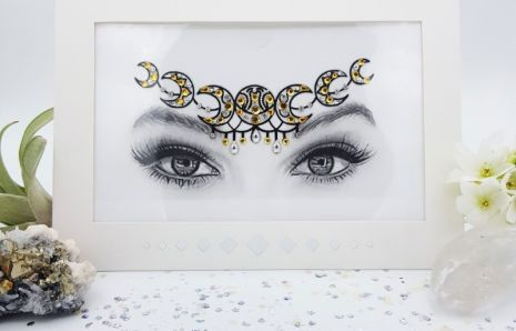 Eclipse Queen Face Jewels