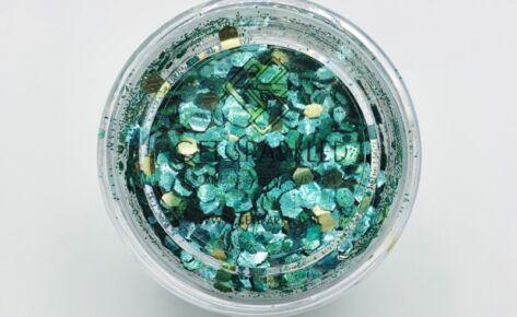 Joyous Jade Biodegradable SPARKLE Glittermix