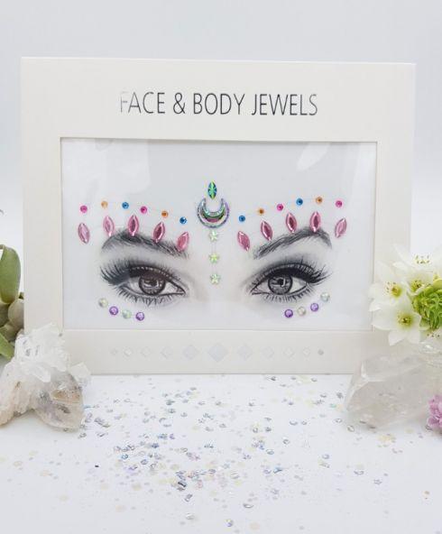 Mooie festival glitter face jewels kopen doe je hier!